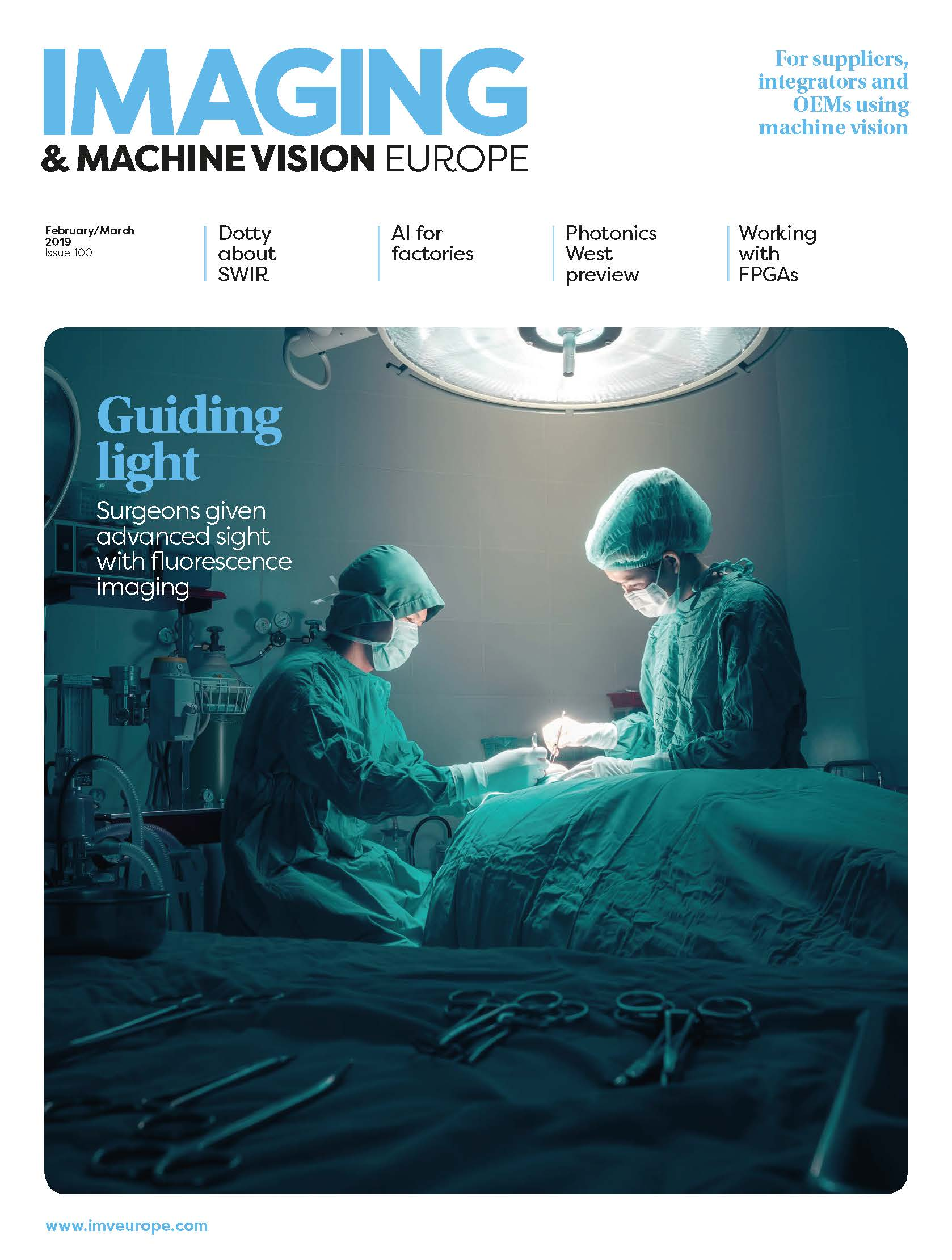 Imaging and Machine Vision Europe